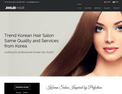 Joolee hair 살롱