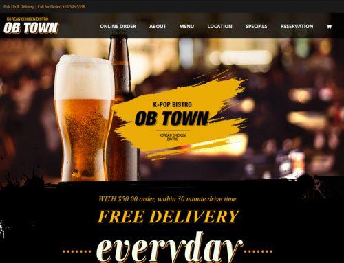 OB Town 온라인 주문