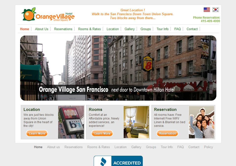 Orangevillage Hostel 예약